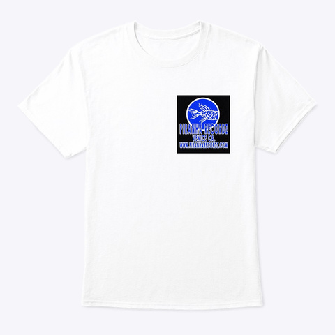 Piranha  Og Broken Glass White T-Shirt Front