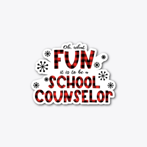 Christmas School Counselor, Oh What Fun Standard T-Shirt Front