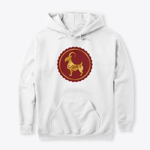 Goat White T-Shirt Front