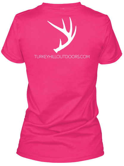 Turkeyhilloutdoors.Com Heliconia T-Shirt Back