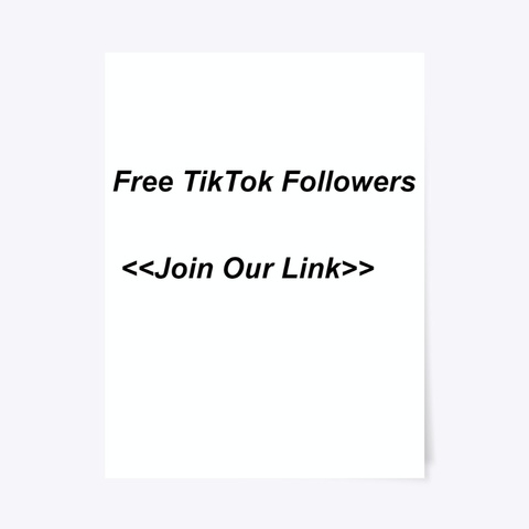 ¶¶Free Tik Tok Followers Online Generator Standard T-Shirt Front