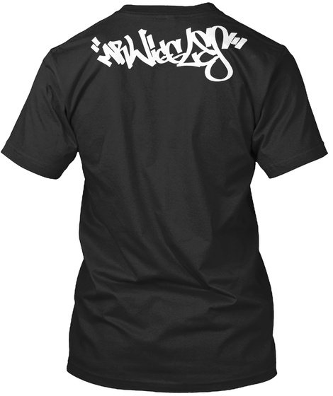 Mr Wiggles Black T-Shirt Back