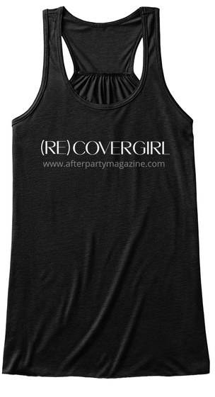 Be A (Re)Covergirl! Black Women's Tank Top Front
