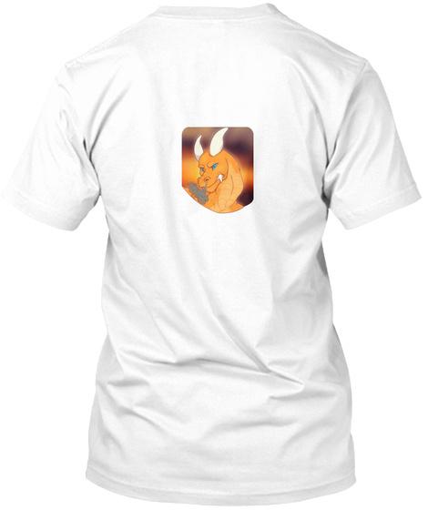 Help An Artist! White T-Shirt Back
