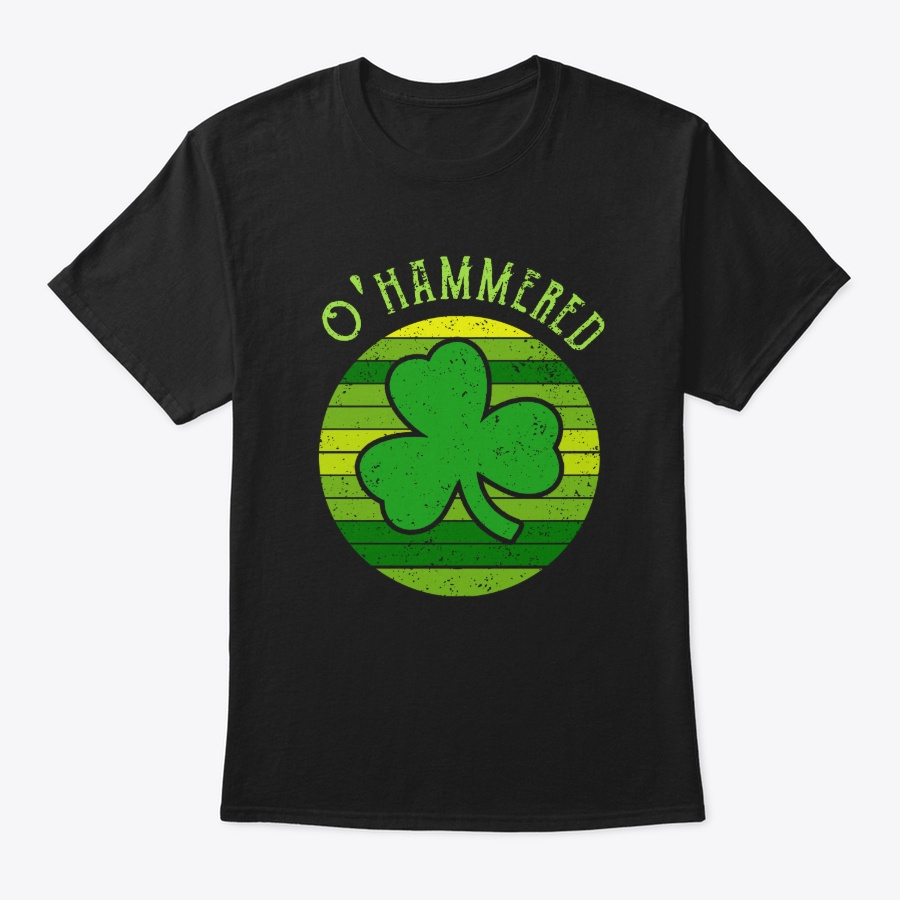 Ohammered Drinking St Patricks Day – Hoodie Navy Size 5XL