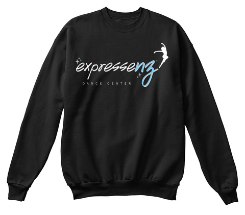 Expressenz Dance Center Black Maglietta Front