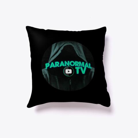 Paranormal Tv  Black T-Shirt Front