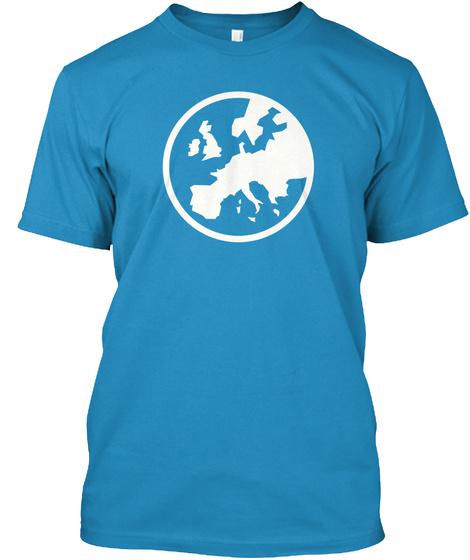 Eurogamer Apparel Sapphire T-Shirt Front
