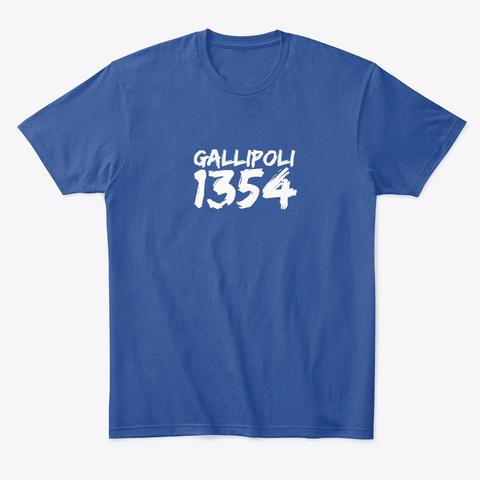Gallipoli Deep Royal T-Shirt Front