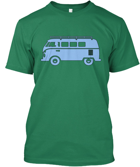 Bus Kelly T-Shirt Front