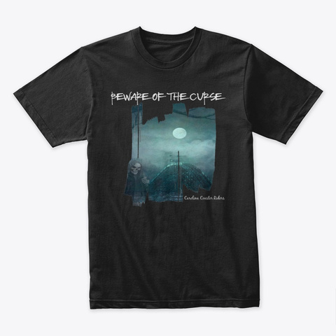 Curse Of Thunder Road Black Camiseta Front