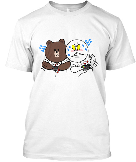 Limited Edition! Competing In Games White T-Shirt Front