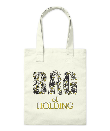 Bag Of Holding   Roleplaying Games   Rpg Natural T-Shirt Front