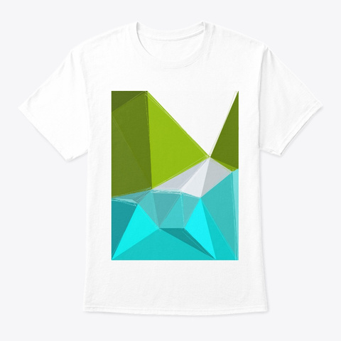 Lake Forest White T-Shirt Front