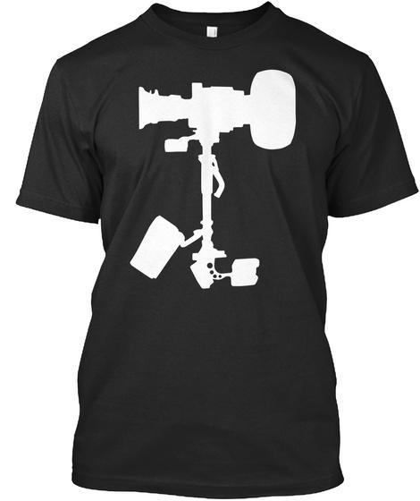 Steadishirt   White Black T-Shirt Front