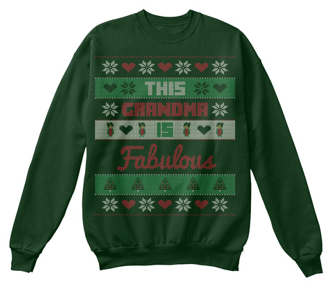 33498a553 Ugly Christmas For Grandma Products from Ugly Christmas Sweaters ...