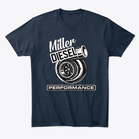 Miller Diesel Performance  New Navy T-Shirt Front