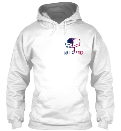 Mail Carrier White T-Shirt Front