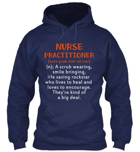 Nurse Practitioner Navy T-Shirt Front