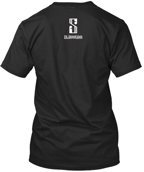 S Black T-Shirt Back