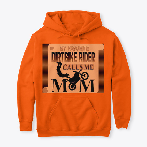 Riding My Bike Motocross Graphic MX Dirt Bike Pullover Sweatshirts Hoodies