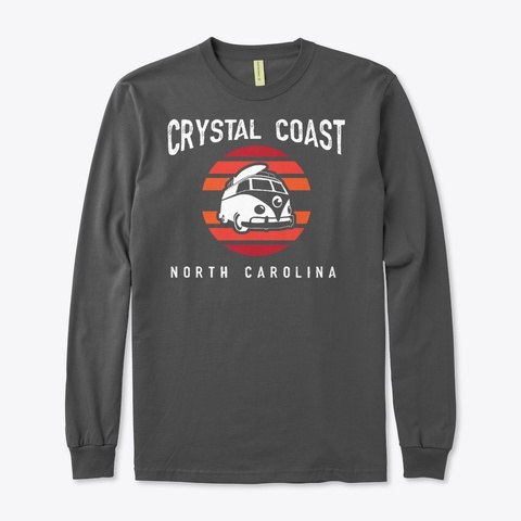 Crystal Coast 1 Charcoal T-Shirt Front