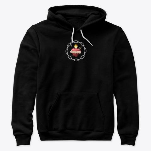 Saint Benedict Center Emblem Black T-Shirt Front