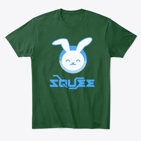 Squee.Va Forest Green  T-Shirt Front