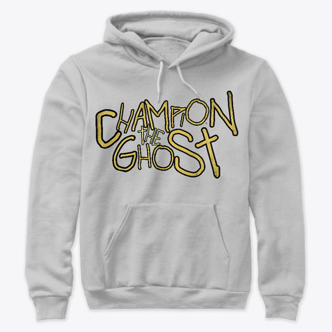 Champion The Ghost  Athletic Heather T-Shirt Front