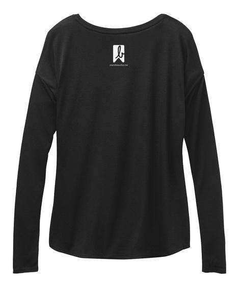L Black T-Shirt Back