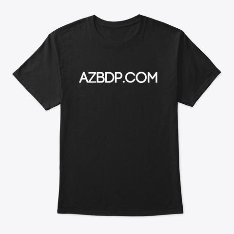 Azbdp.Com Black T-Shirt Front