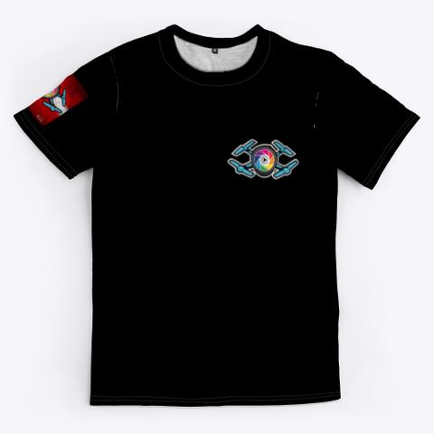 Tech Drone Media Official T Shirt Black T-Shirt Front