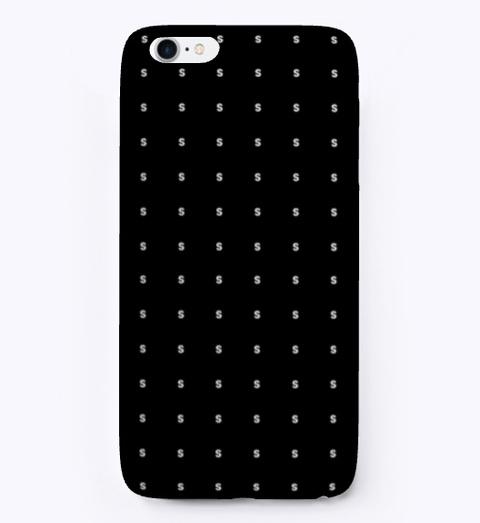 I Phone Case: Sssssss Black T-Shirt Front