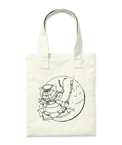 Yay! Kendo! Tote Bag Natural T-Shirt Back