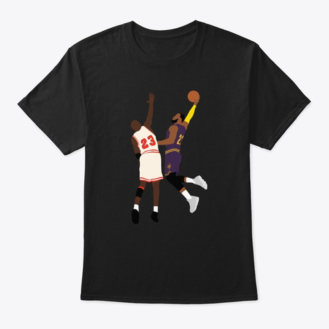 Goat Posterization Black T-Shirt Front