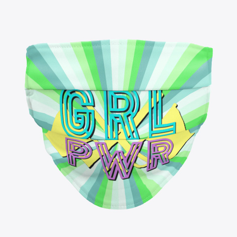 Grl Pwr (Girl Power)   Guard   Face Mask Standard T-Shirt Front