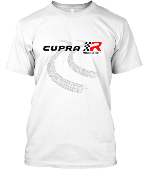 Indstrs   Cupra R White T-Shirt Front