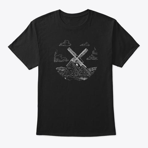 Mx Linux Fantasy Black Camiseta Front