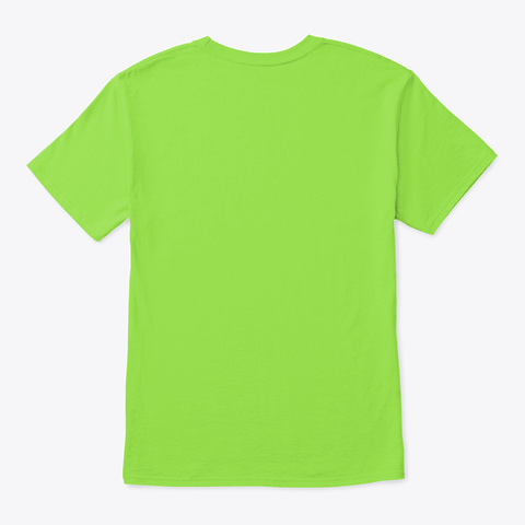 [Section Leader] Crown Lime T-Shirt Back