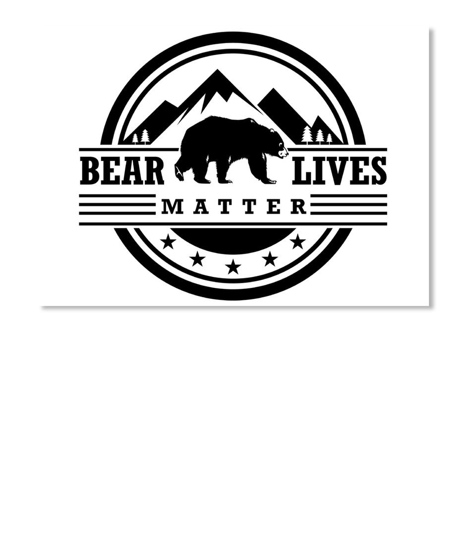 Bear Lives Matter Stickers Products from Bear Lives Matter | Teespring