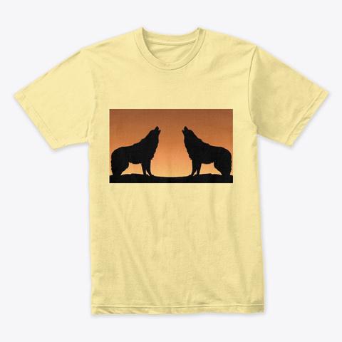 Wolf Cry Banana Cream T-Shirt Front