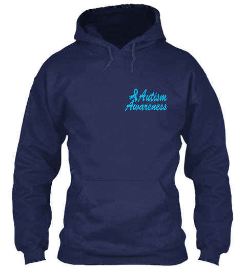 Standing Out Navy Sweatshirt Front
