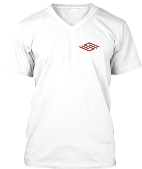 Team Smolik White Edition White T-Shirt Front