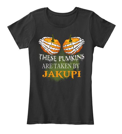 These Pumkins Are Taken By Jakupi Black Women's T-Shirt Front