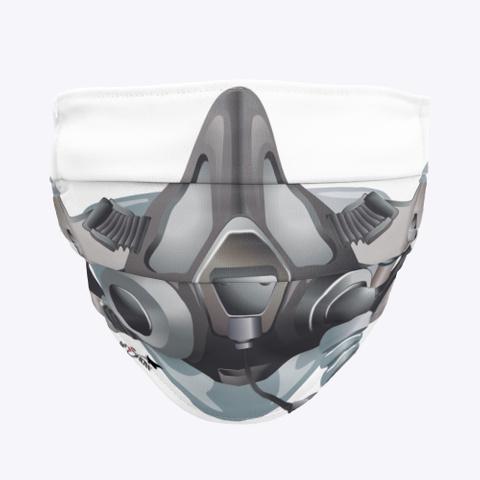 Fighter Pilot Mask Standard T-Shirt Front