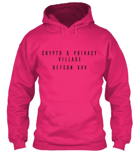 Crypto & Privacy Village Defcon Xxv Heliconia Sweatshirt Front