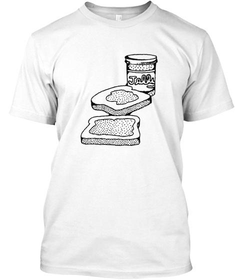Jally White T-Shirt Front