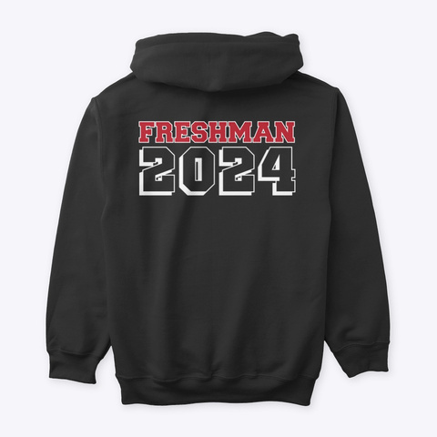 Chichester Freshman 2024 Black T-Shirt Back