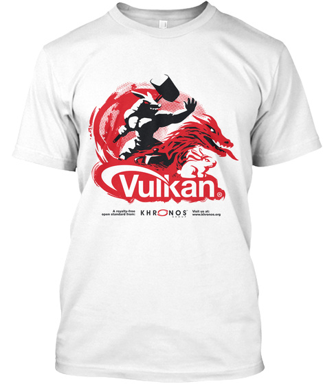 Vulkan Khr Nor White T-Shirt Front