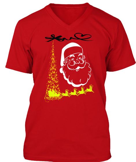 funny christmas shirts red t shirt front